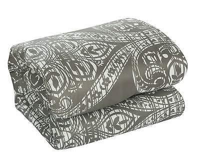 Chic Home 8 Piece Set Jacquard Scroll Bedding