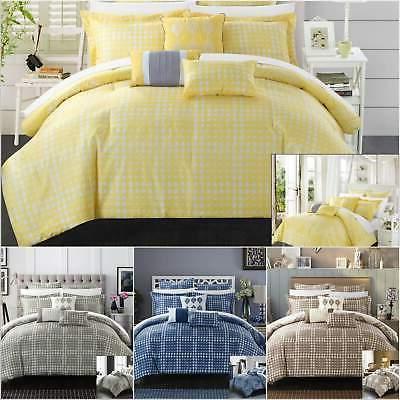 sicily 8 piece comforter set reversible jacquard