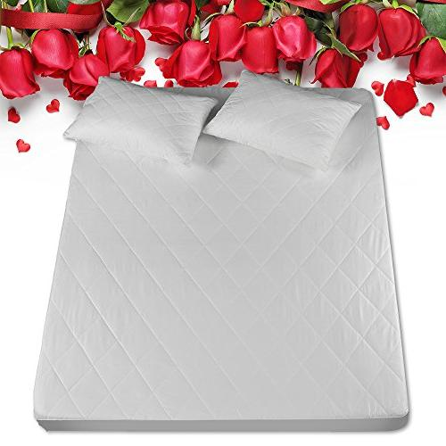silk mattress pad protector keep