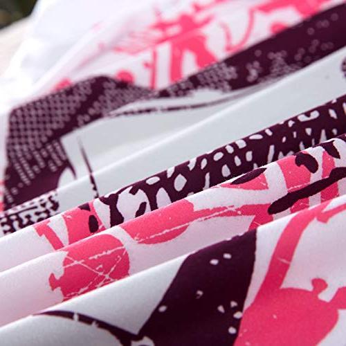 YSJ PCS Skull Duvet Cover Full Zipper Closure,Ties-Black Pattern Size Bedding Set