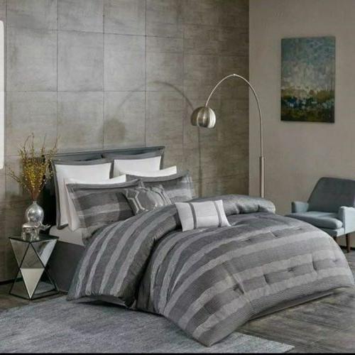 Designer Madison Park Slone 8 pieces Bedding Comforter Set 1
