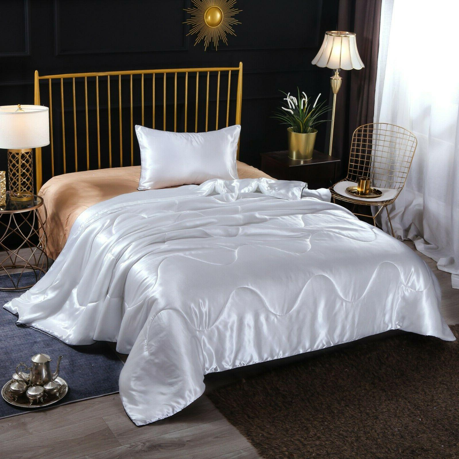 Solid Quilt Soft Bedding