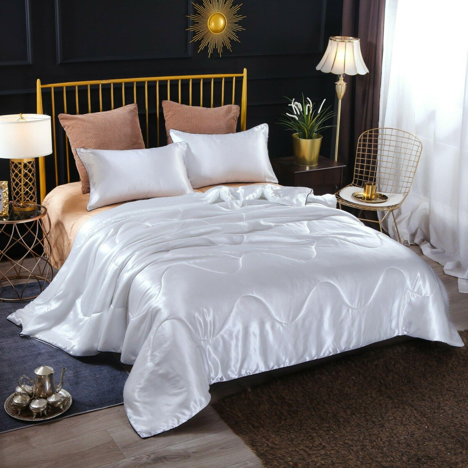 Solid Quilt Comforter Soft