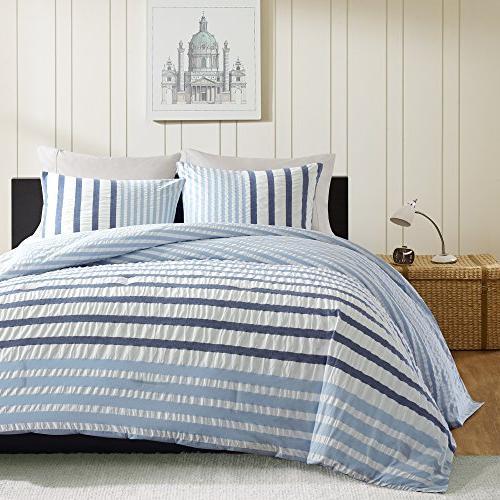 INK+IVY Blue Colorway 3-pc. Comforter Set