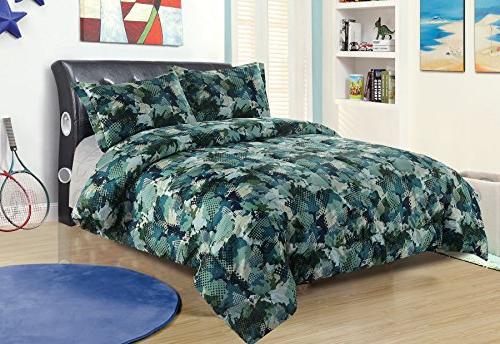twin camo boys bedding comforter
