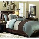 Twin Comforter Sets For Adults Clearance Luxury Stripe Pillo