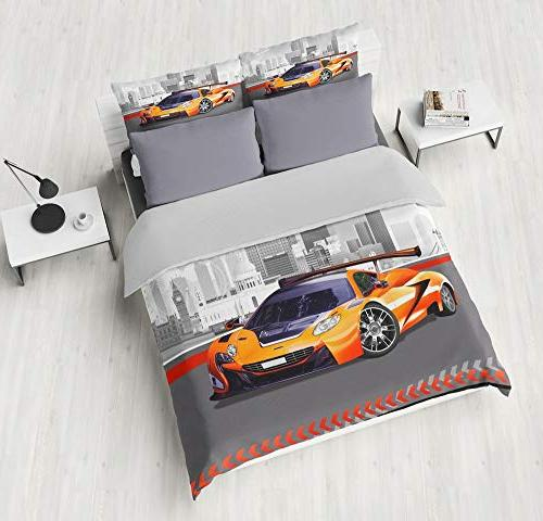 twin speed car duvet cover