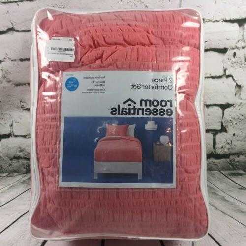 twin twin xl coral 2 piece comforter