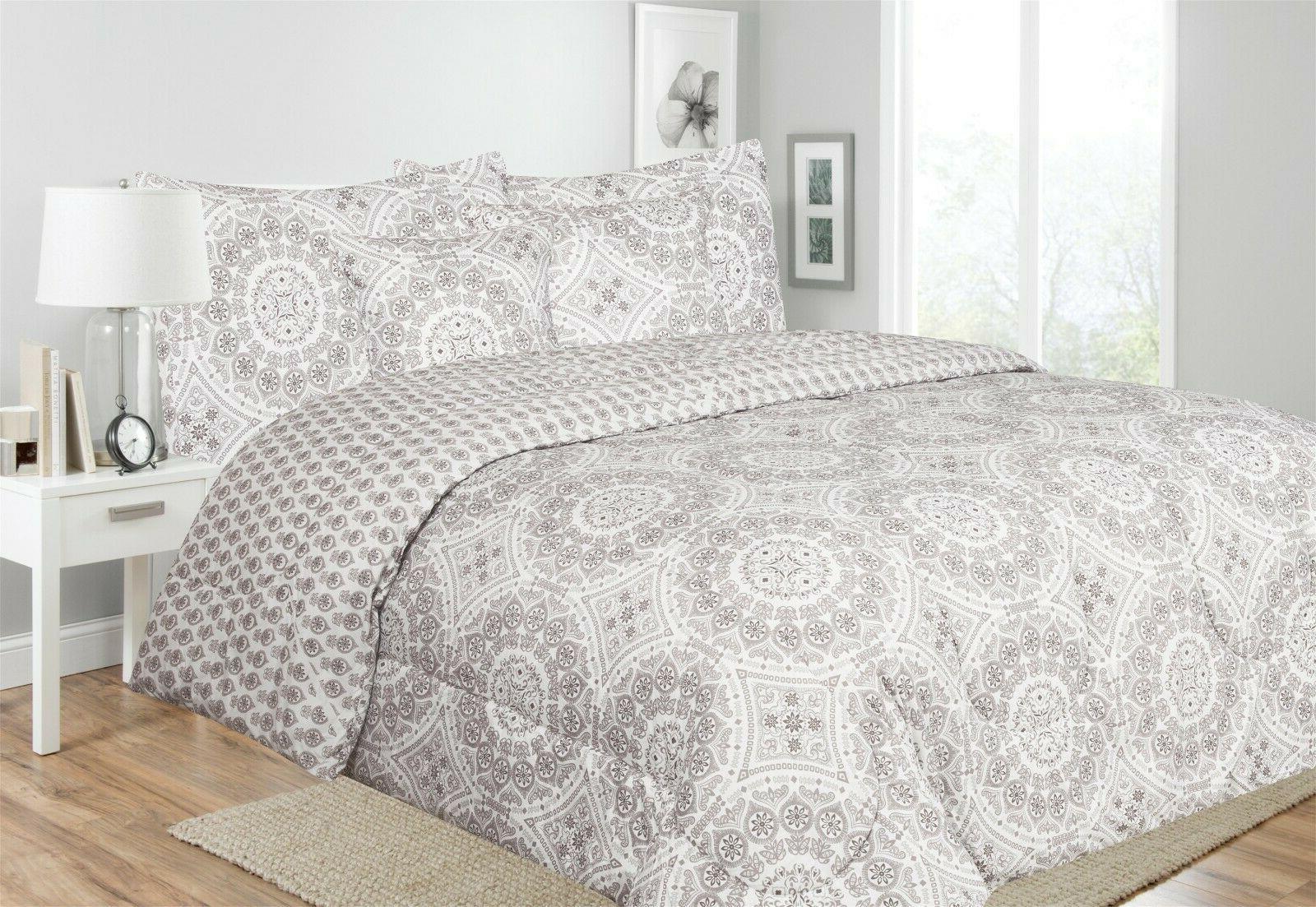 Ultra Reversible Printed Comforter