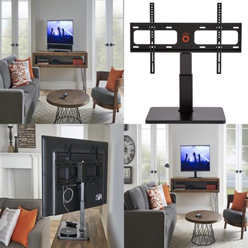 "ECHOGEAR Universal TV Swivel Stand Base for 32"" to 60"" TVs u"