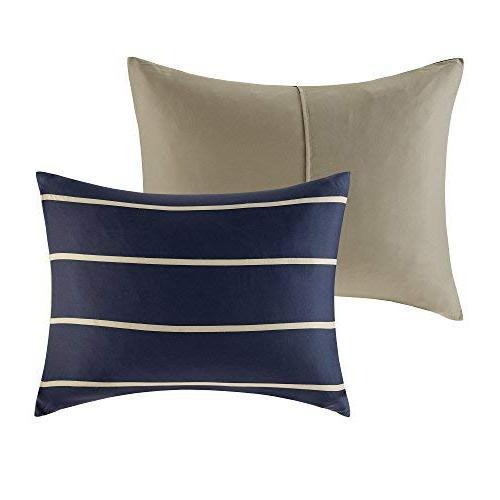 Comfort Spaces - Piece - Khaki Perfect College Guest - Size, 2 Shams, 1 Pillow