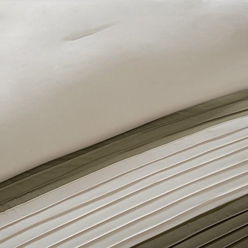 Comfort Comforter 5 Piece – – King Size, Includes Comforter, Skirt
