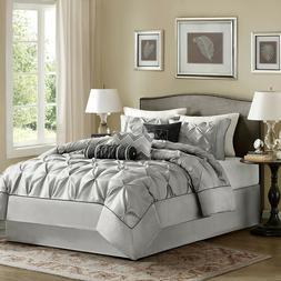 Madison Park Laurel Cal King Size Bed Comforter Set Bed In A