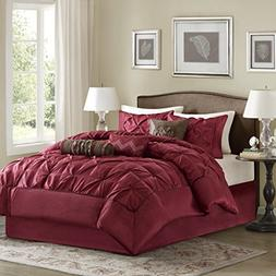 Madison Park Laurel Queen Size Bed Comforter Set Bed in A Ba