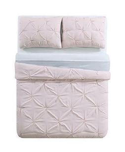 My World Lhk-Comforterset Pleated Reversible Twin Xl Comfort