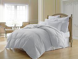 Luxlen Lightweight White Down Comforter - 500 Thread Count 6