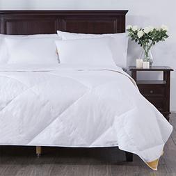puredown Comforter Lightweight Goose Down Quilted Duvet Inse