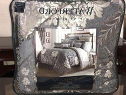 Waterford Linens ANSONIA KING Comforter, Shams and Bedskirt