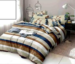 Lining Design Cotton AC Comforter King Size Double Bed Sheet
