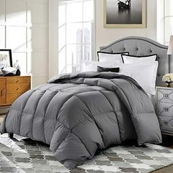ROSECOSE Luxurious Medium Weight Goose Down Comforter Queen