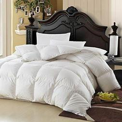 765fc3ef9421 LUXURIOUS Queen Size Siberian GOOSE DOWN Comforter, 600. By Egyptian Bedding