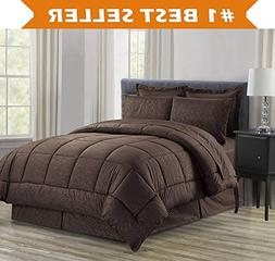 Luxury Bed-in-a-Bag Comforter Set on Amazon! Elegant Comfort