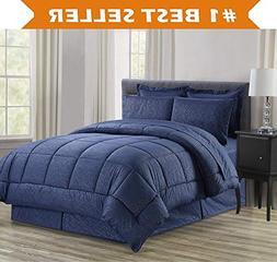 Luxury Bed-in-a-Bag Comforter Set on Amazon! Elegant Comfort