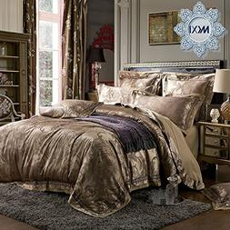 MKXI Luxury Duvet Cover Sateen European Gorgeous Paisley Jac