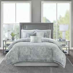 Madison Park Emory Comforter Cross-Weave Reversible Cotton S