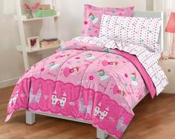 Magical Princess Ultra Soft Microfiber Twin Comforter Beddin