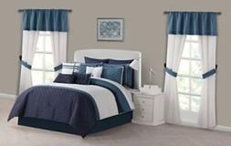 marina bedroom super set 30 piece blue