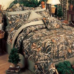 Realtree Max-4 Comforter Set, Queen