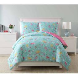 Mermaid Full Size Princess Reversible Kids Bedding Comforter