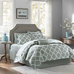 Madison Park Essentials Merritt Complete Bed And Sheet Set