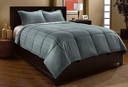 Luxlen Microfiber Down Alternative Comforter Set - Dobby Pla