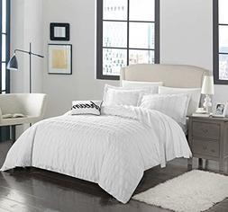 Chic Home 4 Piece Millbury 100% Cotton 200 Thread Count Orga