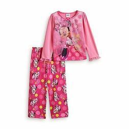 MINNIE MOUSE DISNEY 2-Pc. Comfort Pajamas Sleepwear Set NWT