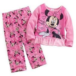 MINNIE MOUSE DISNEY 2-Piece Pajamas Comfort Sleepwear Set To