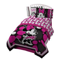 Minnie Mouse Bedding Twin Set for Kids Comforter Girl Bedroo