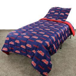 Mississippi Rebels Reversible Comforter & Sham Set TFQ