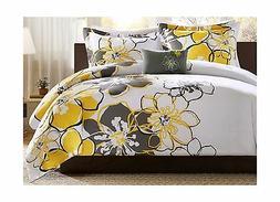 Mizone Allison 4 Piece Comforter Set Yellow Full/Queen Free