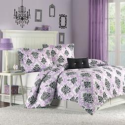Mi-Zone Katelyn Comforter Set Twin/Twin Xl Size - Purple, Bl