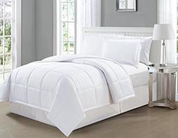 Mk Collection Down Alternative Comforter Set 3pc king Solid