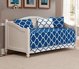 Mk Collection 5pc Modern Elegant Reversible Bedspread Daybed