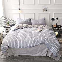 FenDie Modern Simple Bedding Collections Queen Cotton Microf