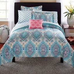 Mainstays Monique Paisley Complete Bedding Set - Queen