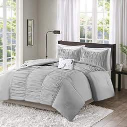 Comfort Spaces Montana Comforter Set - 3 Piece – Gray –