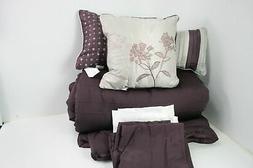 Madison Park MP10-1027 Hampton 7 Piece King Size Bed Comfort