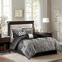 Madison Park MP10-1602 7 Pieces Vanessa Comforter Set44; Cal