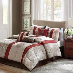Madison Park MP10-751 Donovan 7 Piece Comforter Set - Califo